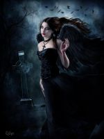 Dark Angel by EstherPuche-Art