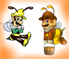 Collab - Bees by raygirl12