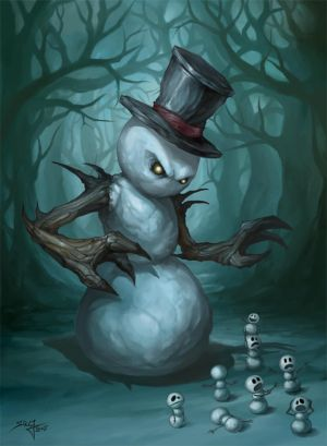 [img width=300 height=409]http://tn3-1.deviantart.com/fs15/300W/f/2007/010/9/0/The_Evil_Snowman_by_Beloved_Creature.jpg[/img]