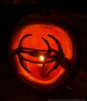 DS9 pumpkin by undead-medic