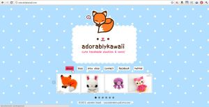 website home page by adorablykawaii