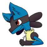 Lucario by TeamRocketJess