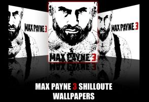 MaxPayne 3 silhouette by potasiyam