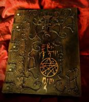 Necronomicon Book of the Black Arts by MrZarono