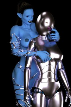 Transformed into Cybernetic drone 3 by juliegrey2001