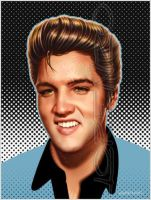 Elvis by LorenzoDiMauro