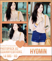 Hyomin (T-ARA) - PHOTOPACK#02 by JeffvinyTwilight