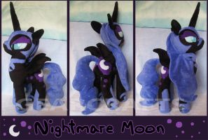 Nightmare Moon Plush by GearCraft