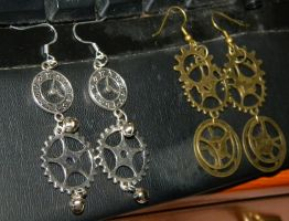 New Earrings by CaressOfVenus