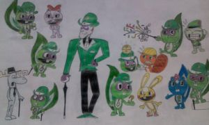The riddler in HTF style by komi114