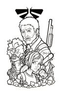 The Last of Us Lineart by BlueUndine
