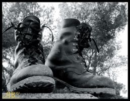 Dirty Old Boots by LotusGrisDesign