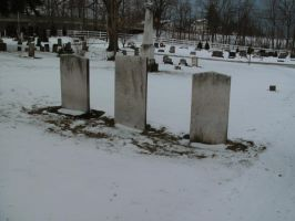 Three Headstones by Rubyfire14-Stock