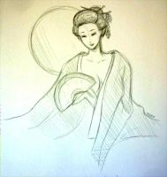 Day 251: Geisha by shortpinay