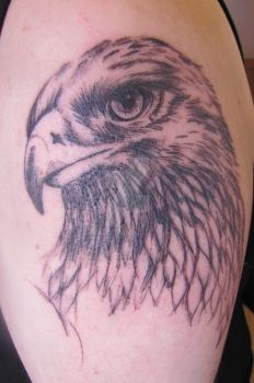 Eagle by ThePinkTattoo