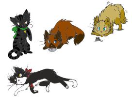 Adoptable cats 4: Closed by Valerie-Sandheart