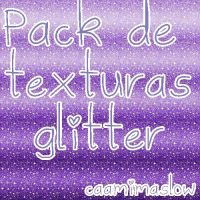 Pack de Texturas Glitter by CaamiMaslow