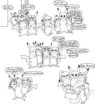 Pikachu Knows Best Pt 5 Inked by Dopplegager