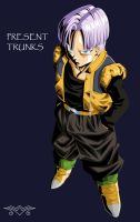[MS Paint] Present Trunks by MiraiWarriorWithin
