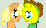 I Get Lost in Your Eyes by ApplejackCowgirl