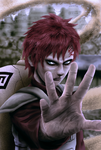 Gaara sand assassin by Shibuz4