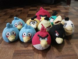 My Angry Birds Plush Collection by AngryBirdsStuff