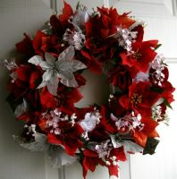 Poinsetta Wreath by Lyrak