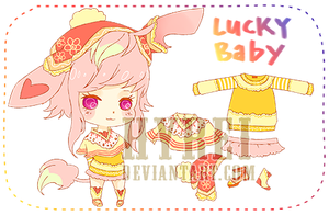 Adoptable : Lucky Baby Species 2[CLOSED] by HyRei