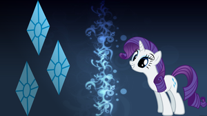 Rarity Wallpaper by RainbowTrixie