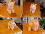 Filly Fluttershy by Crowchet