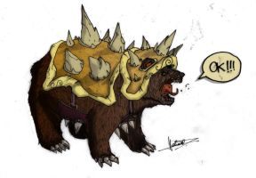 Bear Rammus by Lh0o