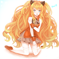 SeeU speedpaint again by goldfishu