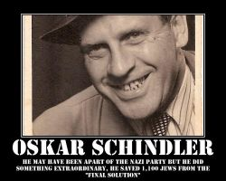Oskar Schindler tribute by TACTICALxERROR