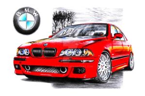 BMW M5 E39 by Arek-OGF
