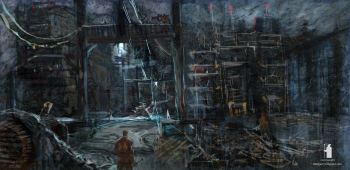 sketch for Fallout rus mod by DartGarry