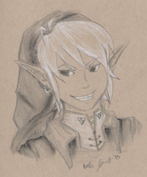 Cheeky Link Is Cheeky by o-NoelleMarie