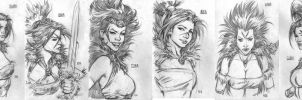 sketches by keucha