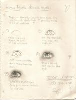 day 46: mini eye tutorial by Mary7Joe