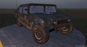 Jeep made for gaming by TenaciousDC