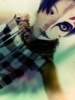 Cosplay face make-up by CielPhan9