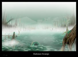 Darkmere Swamps by highdarktemplar