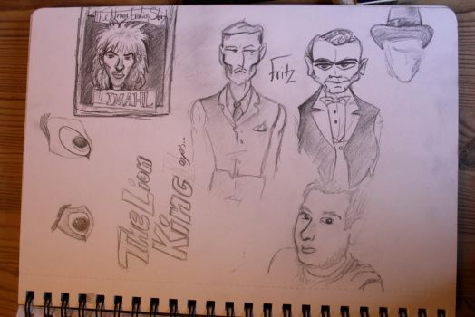 Sketches from 2012 by skyfreecloud