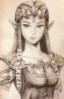 Zelda Sketch by lerod2