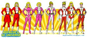 Evolution of Saturn Girl (Imra Ardeen) by BoybluesDCU