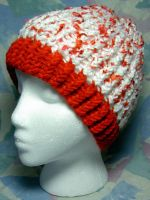 Crushed Candy Cane Hat by SmilingMoonCreations