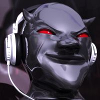 The Devil wears Headphones by ChristianKarling