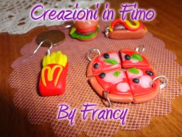 Fimo 12 Pizza and chips by FrancescaBrt