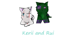 Kerii and Rui request by QueenYami