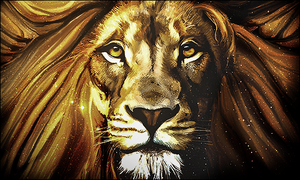 Lion Smudge by Gooberfx
