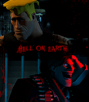 .:[TF2-Project] HELL ON EARTH:. by Wario-Girl